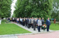Глава администрации Ильгиз Самигуллин возложил венки в День памяти и скорби